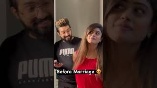 Before Marriage - After Marriage ???? ???? Sachet–Parampara #Shorts