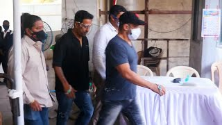 Salman Khan Takes The Second Dose Of Vaccine, Spotted In Casuals