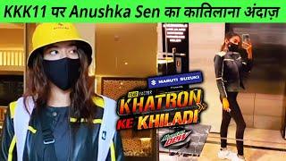 Khatron Ke Khiladi 11 Par Anushka Sen Ka Katilana Andaaz, Ready For Stunts