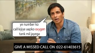 Wow Sonu Sood Comes up with a New Idea To Save Everyone From Corona | Free Oxygen Delivery