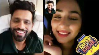 Khatron Ke Khiladi 11 | Rahul Vaidya Missing Disha, Kiya Capetown Se Video Call