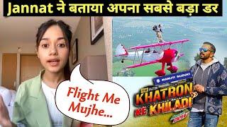 Khatron Ke Khiladi 11 | Jannat Zubair Ne Bataya Apna Darr, Kya Hai Jannat Ka Phobia?