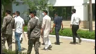 Shri JP Nadda flags off 17 mobile medical units and medical aid for Himachal Pradesh.