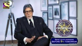 Kaun Banega Crorepati 13 | Amitabh Bachchan Asks Question For Registration | KBC 13