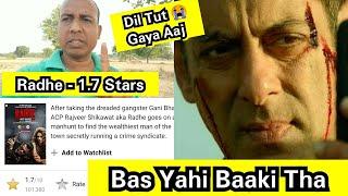 Radhe IMDB Ratings - 1.7 Stars, Salman Khan Fans Maine Aapko Kal Hi Warn Kiya Tha Ki Ye Aur Kam Hoga