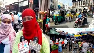 Public Speaking During Lockdown | 6th Day Of Lockdown | Ground Report By Sach News | Hyderabad |