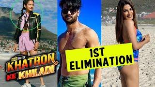 Khatron Ke Khiladi 11 Se Kya Ye Contestant Ka Hua 1st Elimination | Anushka, Vishal A Singh, Nikki