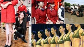 Flight attendant training in china
