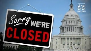 US government goes into shutdown after Senate rejects funding bill