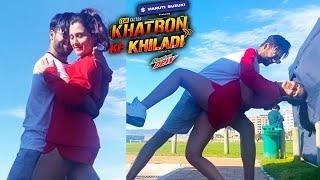 Khatron Ke Khiladi 11 | Vishal Aditya Singh To Kar Rahe Hai Aastha Ke Sath Enjoy, #RunAwayChallenge
