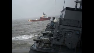 Cyclone Tauktae: Barge P305 rescue operations by INS Kochi