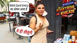 Khatron Ke Khiladi 11 Me Hogi Rakhi Sawant Ki Wild Card Entry ?, Janie Rakhi Ka Reaction