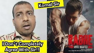 I Don't Completely Agree With Komal Sir Over Radhe Collection Dynamics And Views Count