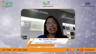 Message from Ms. Gorika Shyam, Head of Sales, Geberit Plumbing Technologies India Pvt. Ltd.