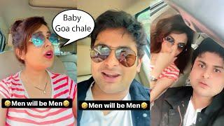Yaar Kitna Cute Couple Hai ???? Sanket Bhosale And Sugandha Mishra Non Stop Funny Video