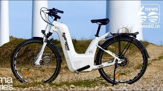 Pragma Industries Introduces A Hydrogen-Powered Bicycle