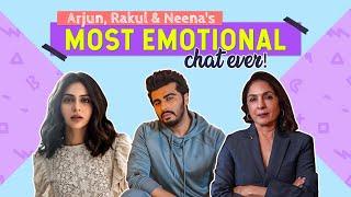 Arjun on his parents' separation; Neena on Masaba, Viv Richards & losing mom; Rakul on dadi's death