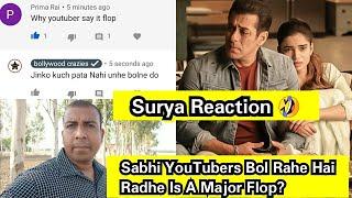 Surya Bhai Sabhi YouTubers Bol Rahe Hai Radhe Is A Big Flop? Surya Reaction