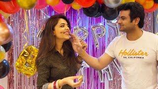 Newly Married Sugandha Ne Manaya Apne Pati Sanket Bhosale Ka Birthday