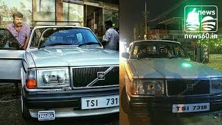 Dulquer Salmaan:dulquer salmaan owned volvo vintage car