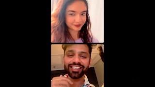 Rahul Vaidya Aur Anushka Sen LIVE From Cape Town, Full On Masti | Khatron Ke Khiladi 11