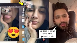 Rahul Vaidya Makes Live Video Call From Cape Town To Surprise His GF Disha Parmar Cutest Video????????