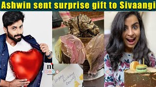 Sivaangi-க்கு Surprise Gift ???? கொடுத்த  ????Ashwin | Sivaangi Birthday Celebration