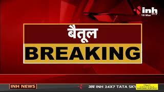 Madhya Pradesh News    Betul में सब्जियों से भरे ट्रक और पेट्रोल टैंकर में भिड़ंत