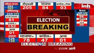 Madhya Pradesh News    Damoh By Election Results, Congress के अजय टंडन 6841 वोटों से आगे