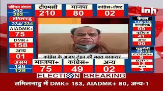 Madhya Pradesh News    Damoh By Election Results, Congress के अजय टंडन ने बनाई 14013 वोटों की बढ़त