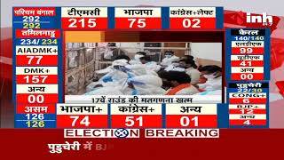 Madhya Pradesh News    Damoh By Election Results, Congress के अजय टंडन की बढ़त बरकरार