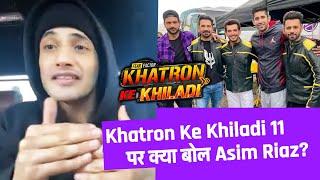 Khatron Ke Khiladi 11 Par Kya Bole Asim Riaz? | Rohit Shetty Show