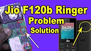 Jio F120b Ringer Not Working - Jio F120b Speaker Not Working - Jio F120b Ringer Jumper Solution