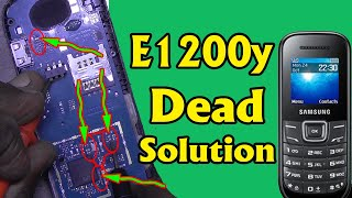 Samsung E1200y Dead Phone New Methed - E1200y Dead Solution Latest Trick By Mobile Technical Guru