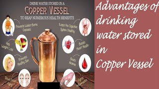 Advantages of drinking water stored in copper vessel Ayurveda Tips https://beingpostiv.com/