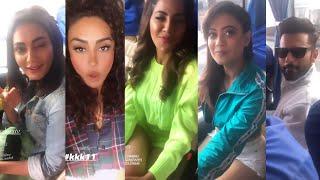 khatron Ke Khiladi 11 New Video Rahul Vaidya, Nikki Tamboli, Shweta Tiwari Dancing In Bus