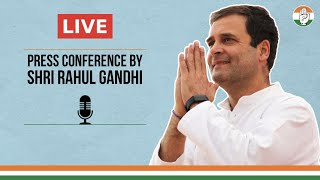 LIVE: Special Press Conference by Shri Rahul Gandhi via video conferencing