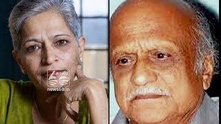 gouri lankesh and kalburgi were shot on same gun