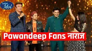 Pawandeep Fans Hai Show Se Naraj, Arunita Nahi Pawandeep Deserving The Winner | Indian Idol 12
