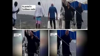 Choksi in Dominica: Pictures of 2 men on yacht reportedly used by Choksi emerge in Caribbean media