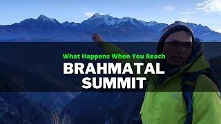 What Happens When You Reach Brahmatal Summit? Feat. Abhishek Negi
