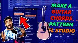 Make Easy Guitar Melodies FL studio   HINDI  