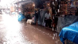#Flood   Every Year Same Story! Locals Lose Patience in Mapusa. WATCH