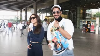 Aly Goni & Jasmin Bhasin Spotted At Airport, Gives Reaction On Rahul Vaidya's ALY Song