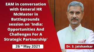 EAM in conversation with General HR McMaster in Battlegrounds session