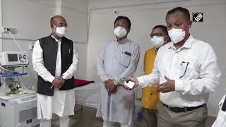 CM Biren Singh Inaugurates 'Aggressive Mass COVID-19 Testing Drive' In Imphal   Catch News