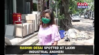 RASHMI DESAI SPOTTED AT LAXMI INDUSTRIAL ANDHERI