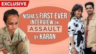 Nisha Rawal BREAKS SILENCE on Karan Mehra's allegations: He banged my head on the wall,cheated on me