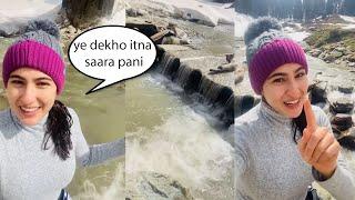 Sara Ali Khan Ban Gayi Vlogger Like Subscribe Karo ???????? Ye Ladki Pagal Ho Gayi Hai
