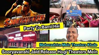 Sooryavanshi Jald Release Hogi Theaters Mein,Maharashtra Mein 100% Occupancy Ke Saath Theaters Khule